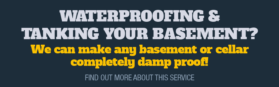 Waterproofing & Tanking Basements & Cellars by Lancashire Damp Proofing
